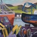 Mallaig: Through the Boatyard